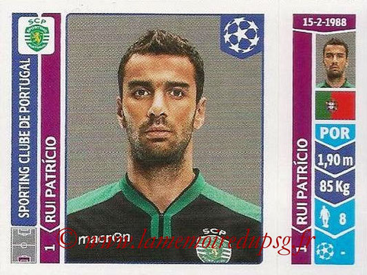 2014-15 - Panini Champions League N° 525 - Rui PATRICIO (Sporting Club de Portugal)