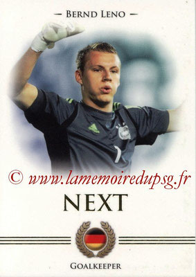 2014 - Futera World Football Unique - N° 095 - Bernd LENO (Goalkeeper) (Next)