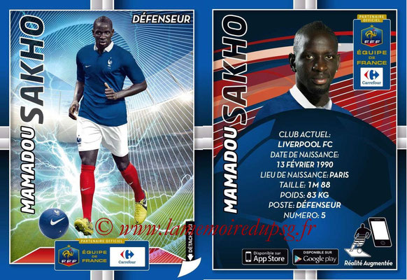 WC 2014 Collection Carrefour 3D Bleus - N° 10 - Mamadou SAKHO (Liverpool FC)