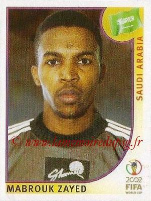 2002 - Panini FIFA World Cup Stickers - N° 348 - Mabrouk ZAYED (Arabie Saoudite)