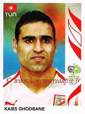 2006 - Panini FIFA World Cup Germany Stickers - N° 580 - Kaies GHODBANE (Tunisie)