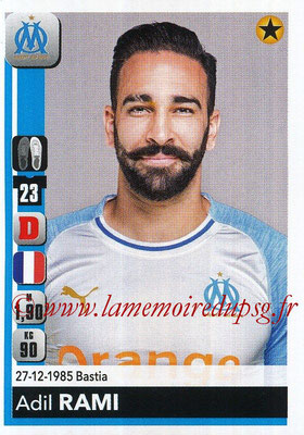 2018-19 - Panini Ligue 1 Stickers - N° 206 - Adil RAMI (Marseille)