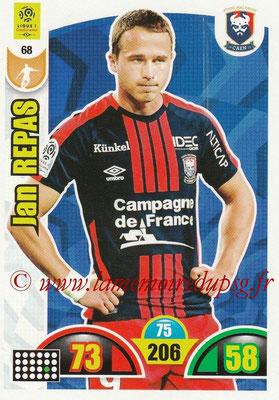 2018-19 - Panini Adrenalyn XL Ligue 1 - N° 068 - Jan REPAS (Caen)