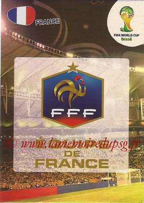 2014 - Panini FIFA World Cup Brazil Adrenalyn XL - N° 157 - Logo France