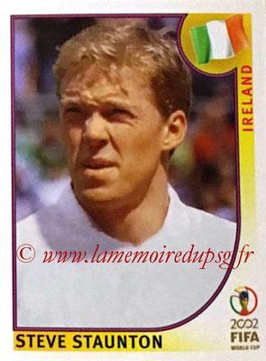 2002 - Panini FIFA World Cup Stickers - N° 355 - Steve STAUNTON (Irlande)