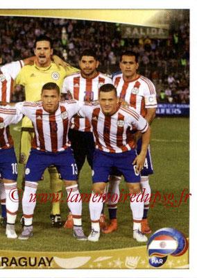 Panini Copa America Centenario USA 2016 Stickers - N° 088 - Equipe Paraguay 2