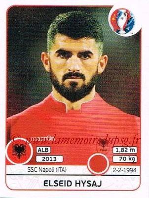 Panini Euro 2016 Stickers - N° 071 - Elseid HYSAJ (Albanie)