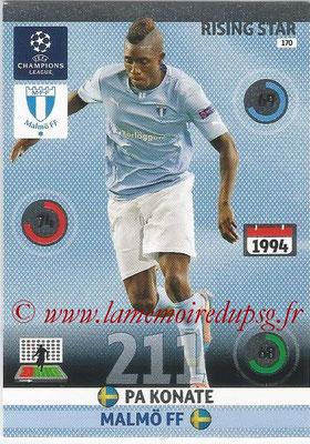 2014-15 - Adrenalyn XL champions League N° 170 - Pa KONATE (Malmö FF) (Rising star)