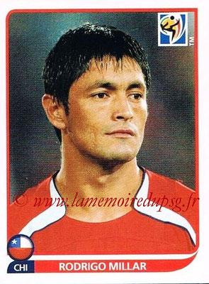 2010 - Panini FIFA World Cup South Africa Stickers - N° 628 - Rodrigo MILLAR (Chili)