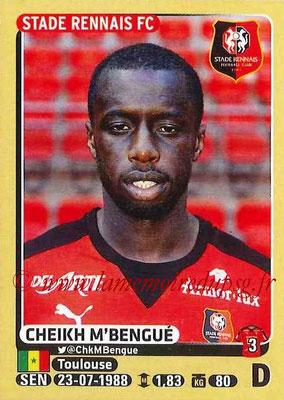 2015-16 - Panini Ligue 1 Stickers - N° 395 - Cheikh M'BENGUE (Stade Rennais FC)