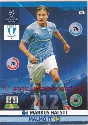 2014-15 - Adrenalyn XL champions League N° 165 - Markus HALSTI (Malmö FF)