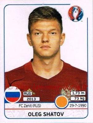 Panini Euro 2016 Stickers - N° 175 - Oleg SHATOV (Russie)