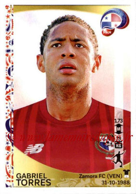 Panini Copa America Centenario USA 2016 Stickers - N° 370 - Gabriel TORRES (Panama)
