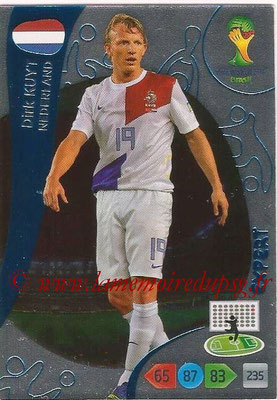 2014 - Panini FIFA World Cup Brazil Adrenalyn XL - N° 384 - Dirk KUYT (Pays-Bas) (Expert)