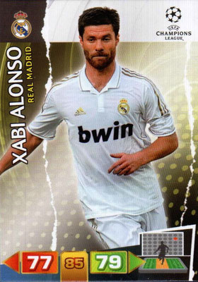 2011-12 - Panini Champions League Cards - N° 229 - Xabi ALONSO (Real Madrid CF)