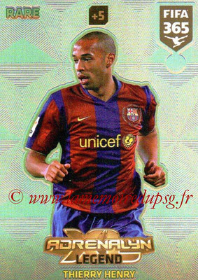 2017-18 - Panini FIFA 365 Cards - N° 003 - Thierry HENRY (FC Barcelone) (Legend)