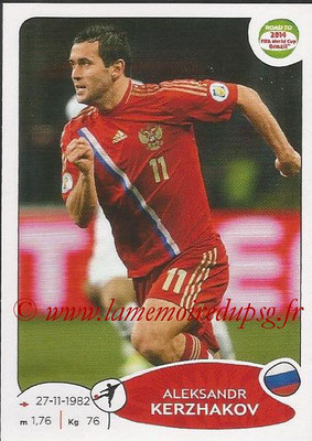 2014 - Panini Road to FIFA World Cup Brazil Stickers - N° 339 - Aleksandr KERZHAKOV (Russie)