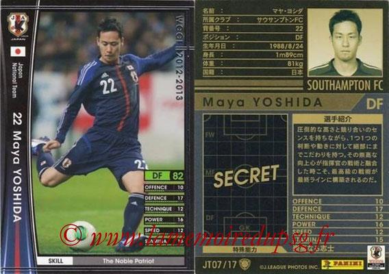 2012-13 - WCCF - N° JT07 - Maya YOSHIDA (Southampton FC) (Japon)