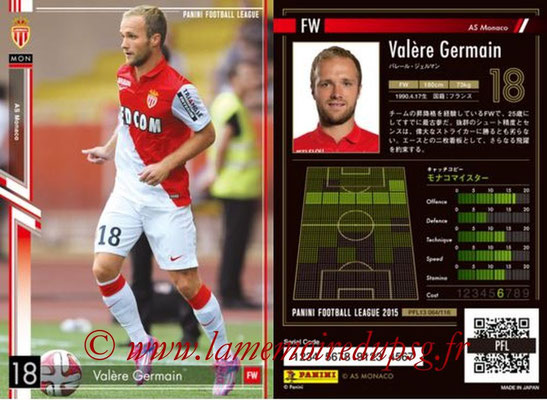 Panini Football League 2015 - PFL13 - N° 064 - Valère GERMAIN (AS Monaco)