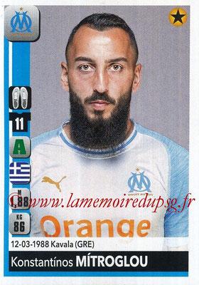 2018-19 - Panini Ligue 1 Stickers - N° 217 - Konstanttinos MITROGLOU (Marseille)