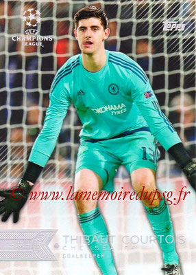 2015-16 - Topps UEFA Champions League Showcase Soccer - N° 157 - Thibaut COURTOIS (Chelsea FC)
