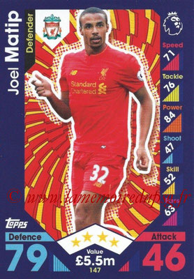 2016-17 - Topps Match Attax Premier League - N° 147