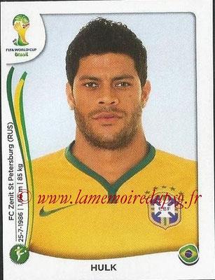 2014 - Panini FIFA World Cup Brazil Stickers - N° 049 - HULK (Brésil)