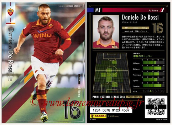 Panini Football League 2013 - PFL04 - N° 029 - Daniele DE ROSSI (AS Roma)