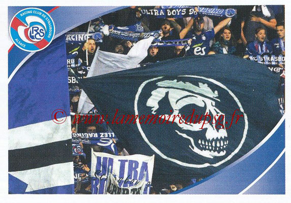 2018-19 - Panini Ligue 1 Stickers - N° 473 - Supporters Strasbourg