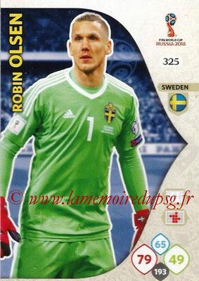 2018 - Panini FIFA World Cup Russia Adrenalyn XL - N° 325 - Robin OLSEN (Suède)