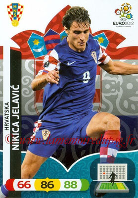 Panini Euro 2012 Cards Adrenalyn XL - N° 114 - Nikica JELAVIC (Croatie)