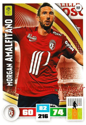 2016-17 - Panini Adrenalyn XL Ligue 1 - N° 117 - Morgan AMALFITANO (Lille)