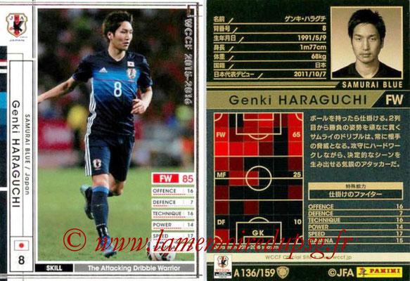 2015-16 - Panini WCCF - N° A136 - Genki HARAGUCHI (Japon)