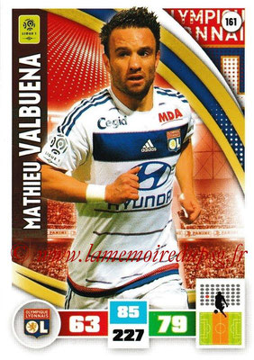 2016-17 - Panini Adrenalyn XL Ligue 1 - N° 161 - Mathieu VALBUENA (Lyon)