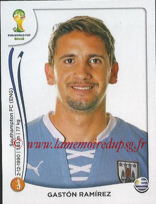 2014 - Panini FIFA World Cup Brazil Stickers - N° 273 - Gaston RAMIREZ (Uruguay)