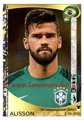 Panini Copa America Centenario USA 2016 Stickers - N° 114 - ALISSON (Brésil)