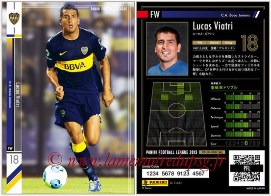 Panini Football League 2013 - PFL04 - N° 088 - Lucas VIATRI (Boca Juniors)