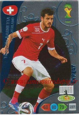 2014 - Panini FIFA World Cup Brazil Adrenalyn XL - N° 385 - Tranquillo BARNETTA (Suisse) (Expert)