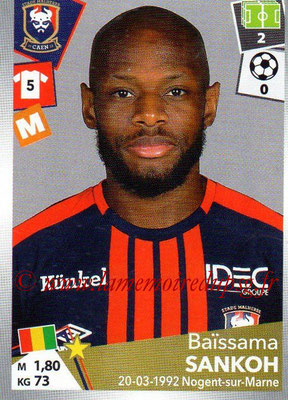 2017-18 - Panini Ligue 1 Stickers - N° 093 - Baïssama SANKOH (Caen)