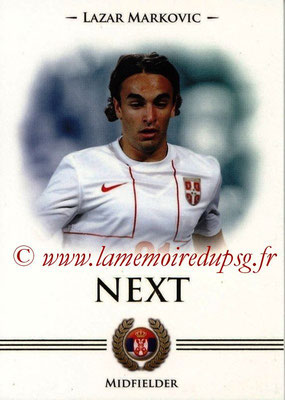 2014 - Futera World Football Unique - N° 097 - Lazar MARKOVIC (Midfielder) (Next)