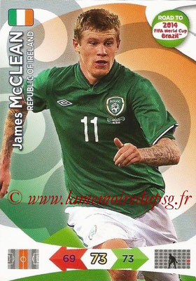 2014 - Panini Road to FIFA World Cup Brazil Adrenalyn XL - N° 116 - James McCLEAN (République d'Irlande)