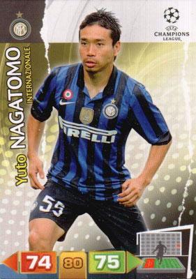 2011-12 - Panini Champions League Cards - N° 111 - Yuto NAGATOMO (Inter Milan)