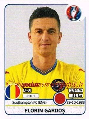 Panini Euro 2016 Stickers - N° 054 - Florin GARDOS (Roumanie)