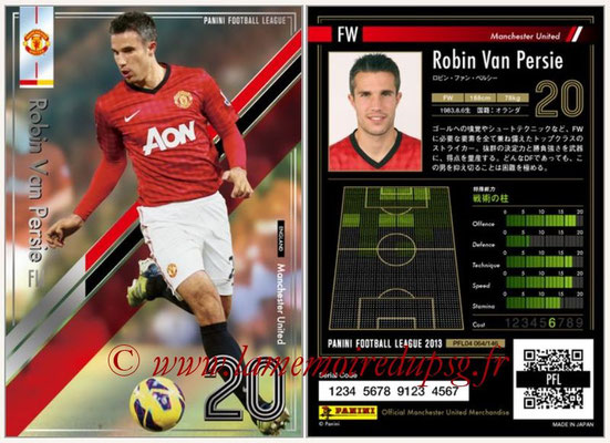 Panini Football League 2013 - PFL04 - N° 064 - Robin VAN PERSIE (Manchester United)