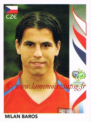 2006 - Panini FIFA World Cup Germany Stickers - N° 374 - Milan BAROS (République Tchèque)