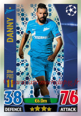 2015-16 - Topps UEFA Champions League Match Attax - N° P13 - DANNY (FC Zenit) (Pro 11)