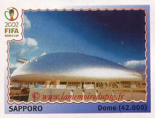 2002 - Panini FIFA World Cup Stickers - N° 023 - Stade Sapporo (Dome)