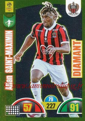 2018-19 - Panini Adrenalyn XL Ligue 1 - N° 417 - Allan SAINT-MAXIMIN (Nice) (Diamant)