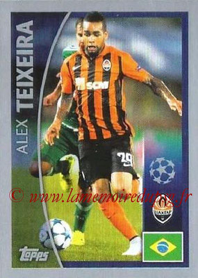 2015-16 - Topps UEFA Champions League Stickers - N° 013 - Alex TEIXEIRA (FC Shakhtar Donetsk)