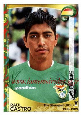 Panini Copa America Centenario USA 2016 Stickers - N° 391 - Raul CASTRO (Bolivie)